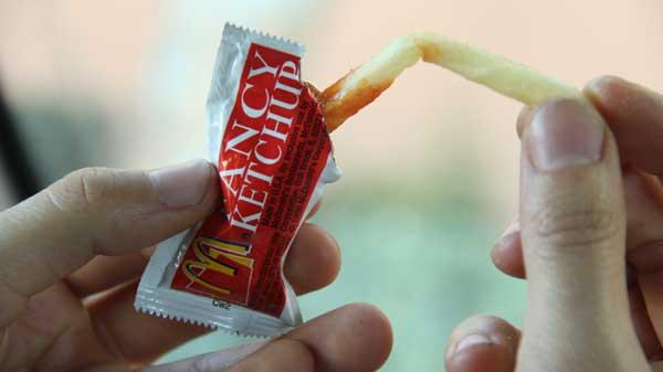 ketchup packet 2